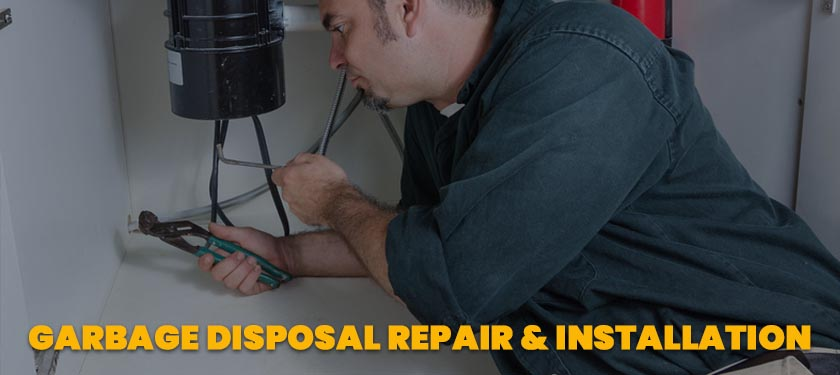 garbage disposal repair and installation service