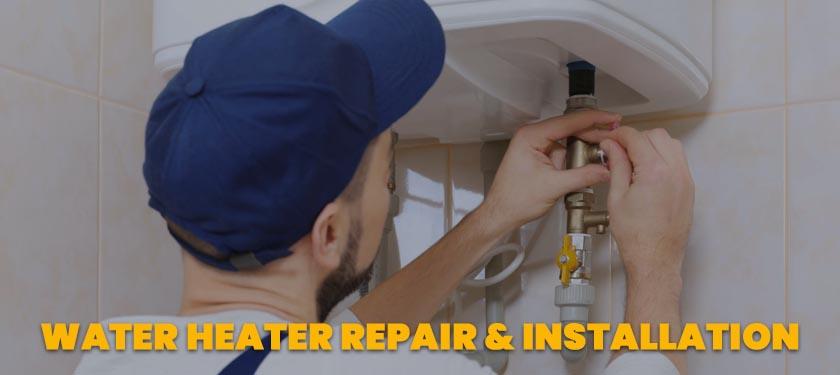 water heater repair installation service